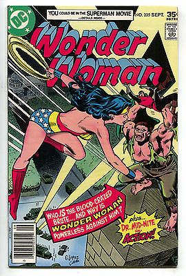 Wonder Woman 235 1st Series DC 1977 FN Dr. Mid-Nite Mr. Miracle Ad