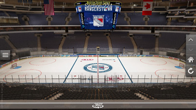 New York Rangers Montreal Canadiens 3/1 Tickets First Row Center Ice