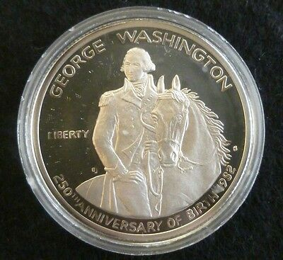 Stati Uniti. 1982, Mezzo (Half) Dollaro D'Argento Proof Washington
