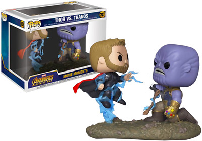 Marvel Avengers Infinity War Thor Vs Thanos Funko POP! Movie Moments