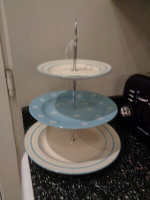 Laura Ashley 3 Tier Cake Stand - Unused