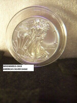 2019 American Silver Eagle 1Oz Brill Uncirc .999 Great Deal $$💰💎