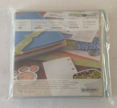 Creative Memories 8x8 Picfolio Album Quick Kit - Pet BNIP
