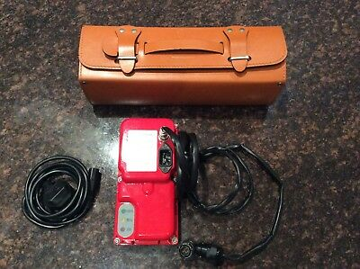 Ferrari Battery Charger In Leather Case Original Ferrari Accessory