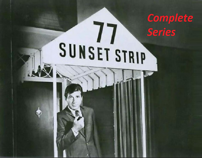 77 Sunset Strip Complete Series On Dvd All 206 Epidodes Absolute Best Available
