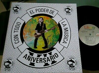 Motorhead-On Parole-LP Mexico Promo radio Unique cover PS-Emi Capitol