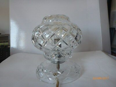 Crystal Antique Lamp, girls room collectable  light