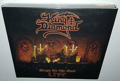 King Diamond Songs For The Dead Live (2019 Release) Brand New Cd 2Dvd Set