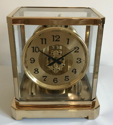Rare! Serviced Early 1940's Jaeger LeCoultre Atmos II Clock- Working!