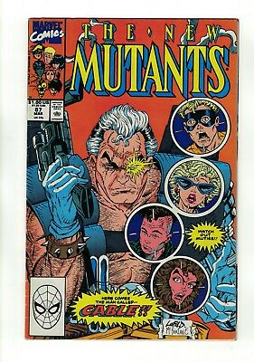 The New Mutants #87 | 1st Appearance of Cable | Deadpool 2 Movie | Marvel - 1990