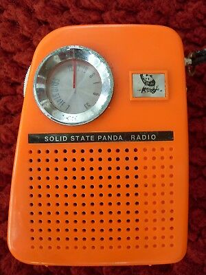 Panda transistor radio non-working