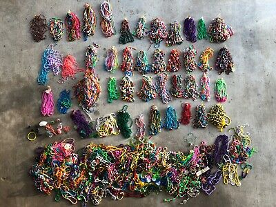 LOT Mardi Gras Beads Assorted Necklaces Authentic New Orleans Parades