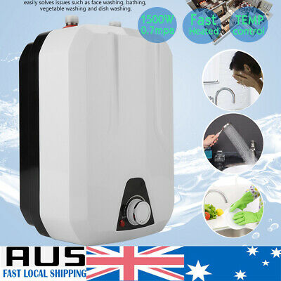 Electric Hot Water Heater Instant Shower System 1500W Fast Heated Energy Saving