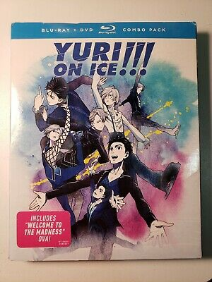 Yuri On Ice: The Complete Series [Blu-ray] LIKE NEW DISC AND CASE WITH SLIPCOVER