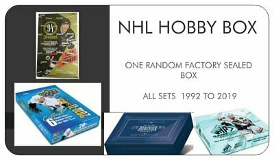 NHL Hobby Box - Factory Sealed Edition - 1 factory sealed box per order