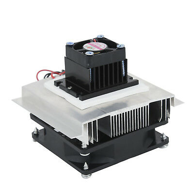 Thermoelectric Peltier Refrigeration Cooling Cooler Fan System Heatsink Kit MW