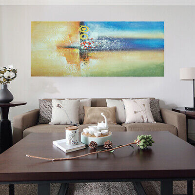 Modern Abstract Hand Painted Oil Painting Canvas Home Decor Wall Art Framed