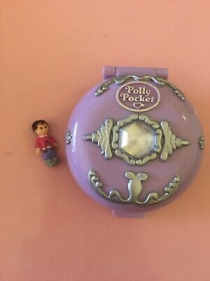 POLLY POCKET Jeweled Iceland 1992 Vintage Bluebird Ice Kingdom Compact