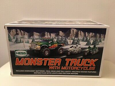 2007 Hess Truck - Monster Truck with Motorcycles