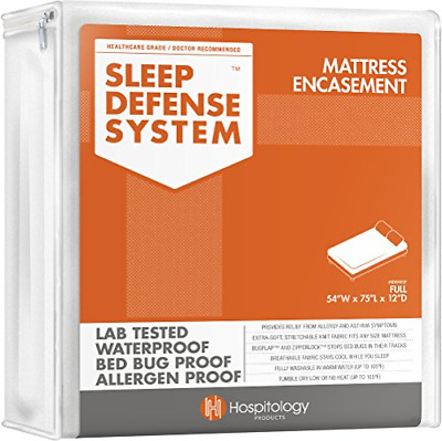 HOSPITOLOGY PRODUCTS Sleep Defense System - Waterproof/Bed Bug/Dust Mites - & -