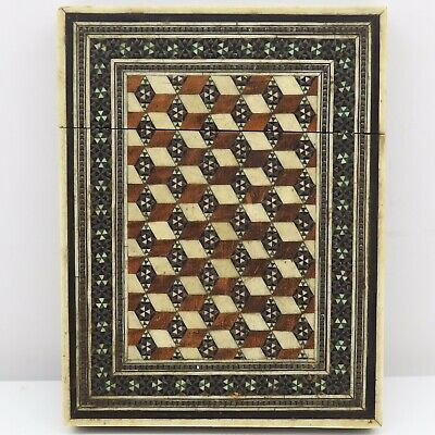 Antique Anglo-Indian Card Case In Great Condition