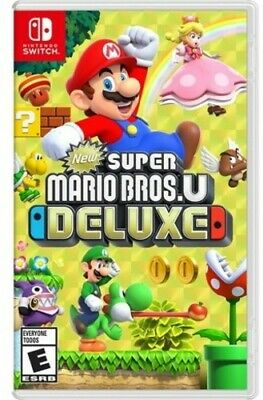 New Super Mario Bros.U Deluxe (Game Misc Used Very Good)