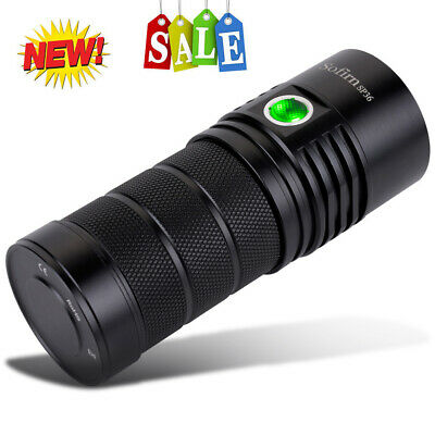 Utorch Sofirn SP36 6000LM USB Rechargeable LED Flashlight Waterproof 5 Modes