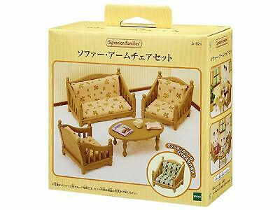 Sylvanian Families furniture sofa arm chair set Ka-521 free shipping