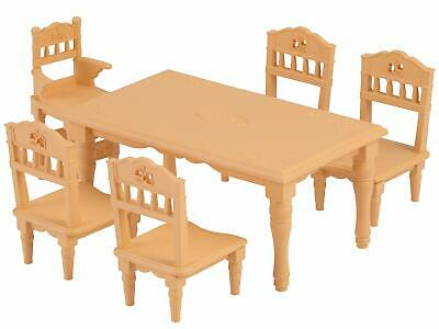 Sylvanian Families Furniture dining table set Ka-421 free shipping Japan NIB