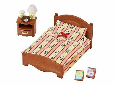 Sylvanian Families furniture semi-double bed Ka-512 Epoch free shipping NIB