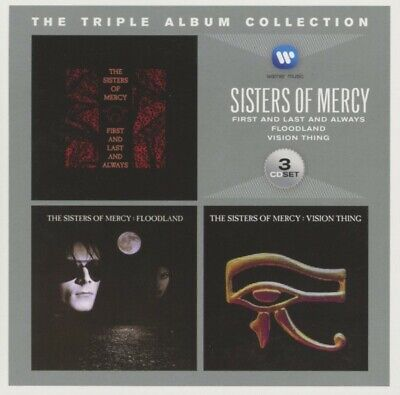 The Sisters Of Mercy - The Triple Album Collection CD (3) WEA International NEW