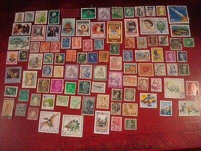 WORLDWIDE - 99 x WORLD STAMPS (16) - ALL DIFFERENT