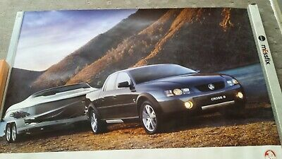Holden factory commodore ute Crewman X 8  dealers showroom poster