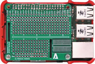 Raspberry Pi CaseHAT SOIC28 Prototyping Board Includes Header PCB & Hardware