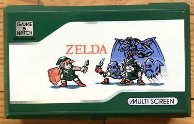 Tbe Console Nintendo Game & Watch Multi Screen Zelda Zl-65 Fonctionne Cache-Pile