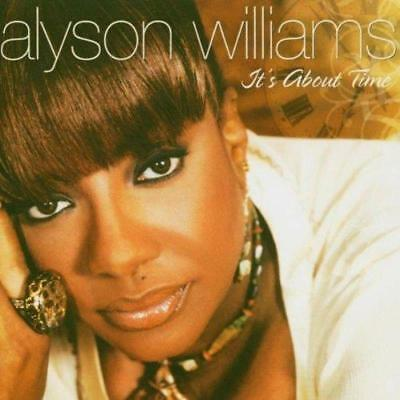 ALYSON WILLIAMS It's About Time NEW & SEALED MODERN SOUL / NUSOUL CD (EXPANSION)
