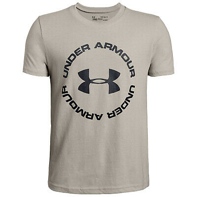 Under Armour Junior Boys Sportstyle Short Sleeve T-Shirt UA Kids Sports Tee Top