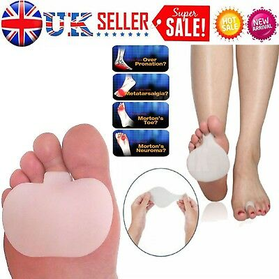 Gel Metatarsal Sore Ball of Foot Pain Cushions Pads Insoles Forefoot Support JF