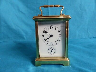 Carriage Alarm Clock For Spares Or Repairs