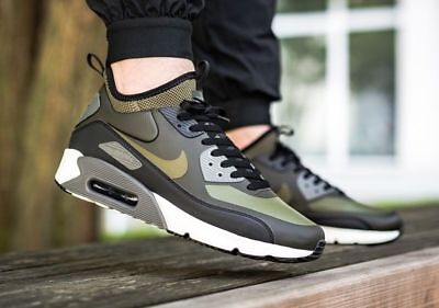 new product 3b523 ceae5 Mens Nike Air Max 90 Ultra Mid Winter Size 11 Eur 46 (924458 300)