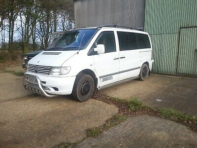 Mercedes Vito 110CDI Traveliner Part service history