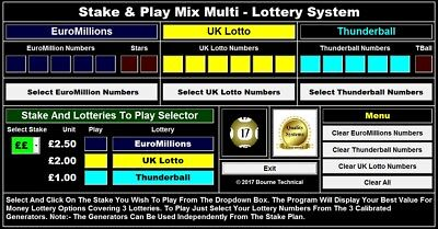 DOWNLOAD Stake & Play Lottery System