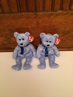 ty beanie babies 1999 holiday teddy Ty With Pe Pellets Two For The Price Of  One 2bc67a50c818