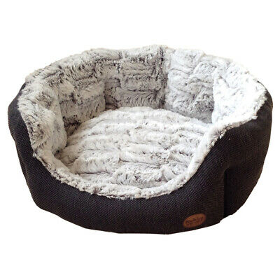 Nobby Dog Bed Oval Cacho Dark Grey, Various Sizes, New
