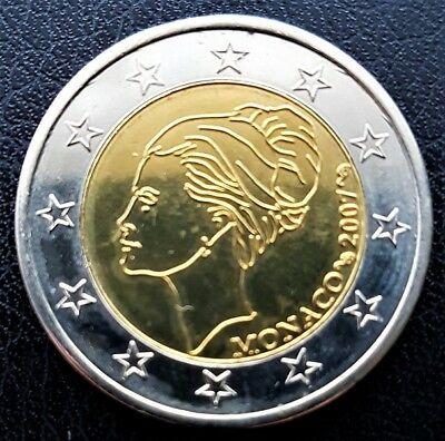 Monaco - 2007 - €2 Euro Grace Kelly - Trial - UNC - LIMITED EDITION - coin