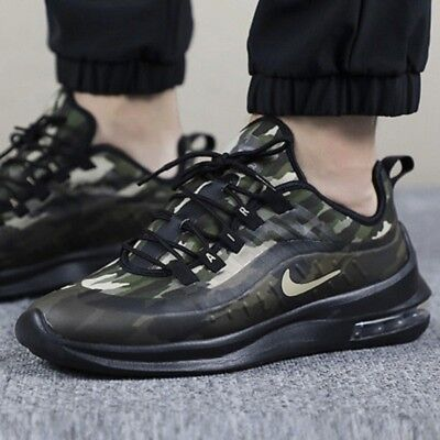 big sale edbd2 7ff5c Nike Air Max Axis Premium Homme Chaussures Sport Baskets Camouflage UK 8