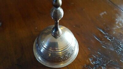 Antique russian silver bell
