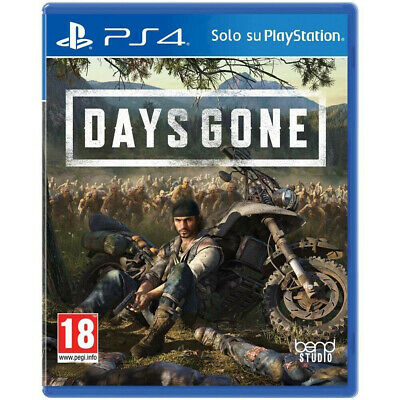 Days Gone Ps4 - Playstation 4 - Italiano - Prevendita Del 26/04/2019 - Offerta !