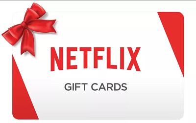 Netflix Giftcards 30usd and more