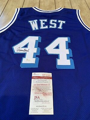 new concept 43eac b0408 JERRY WEST SIGNED Autographed Auto Los Angeles Lakers Jersey ...
